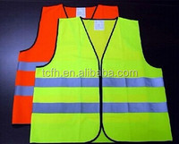 High visibility safety vest for workplace wear