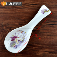 ceramic soup spoon for christmas decoration