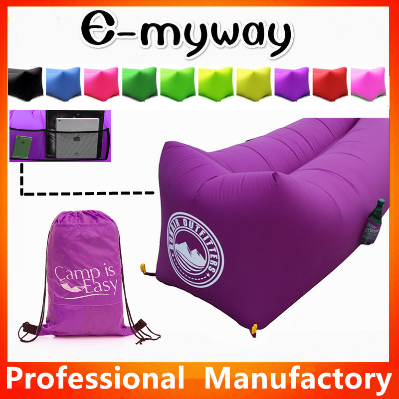 Hot selling layback air sleeping sofa bed inflatable lazy boy sofa chair