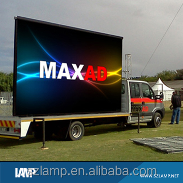 P6 Outdoor Commercial Mobile Truck LED TV Screen