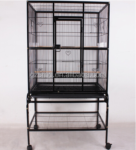 Large Metal Bird Parrot Cage House
