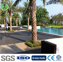 top quality UV protection wooden plastic outdoor wpc composites decking tiles wood