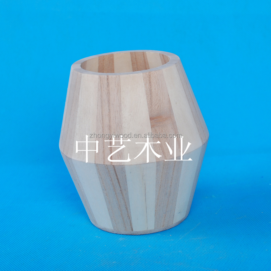 BSCI China factory small wooden barrel for coffee or tea