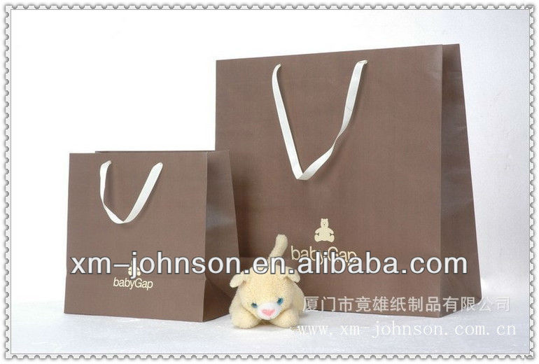 Clothing paper bag for baby gap