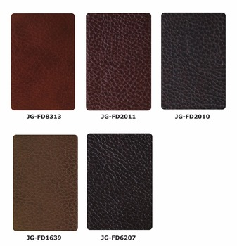 Eco-friendly Microfiber leather for modern sectional sofa in red, orange, green, silver and etc