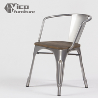 best price popular metal iron rstaurant living room industrial chair