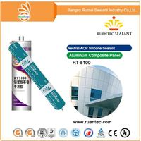No Corrosion High Pressure Resistance Fire Stop Silicone Sealant For Glass