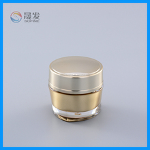 50G luxury acrylic empty cosmetic jar
