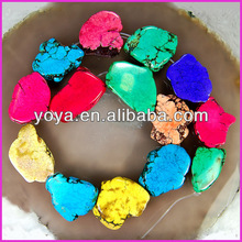 TB0098 Multicolor turquoise slab,turquoise flat stones