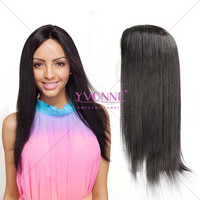 High quality virgin brazilian straight human hair full lace wigs