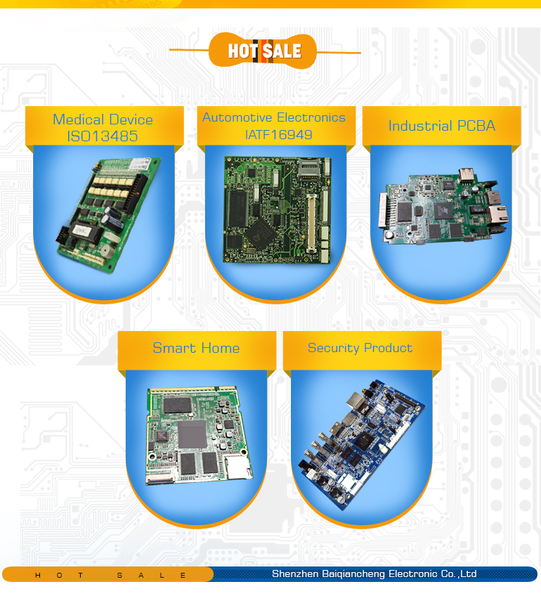 mid pcba board| printed circuit board assembly for Security Systems