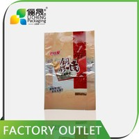 resealable plastic bags color printing bread packaging paper bags