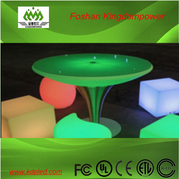 Modern clasical led glowing shining table