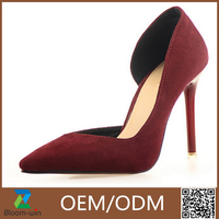 high quality customized color customized color high heel shoe GuangZhou