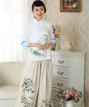newest design hotel receptionist uniforms top + trousers