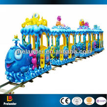 High quality interesting children electric mini train for kids Elephant train