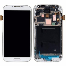 100% tested oem lcd for Samsung I9500 Galaxy S4 digitizer touch screen display assembly