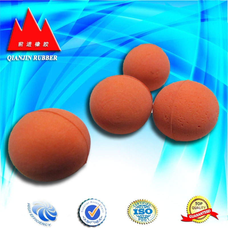 China supplied soft silicone rubber ball, SBR solid rubber ball with aging-resistant