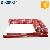 Fanshionable cozy luxury pet dog beds dog bunk bed
