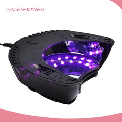 NEWEST portable better rechargeable 30k 60w gel uv led cordless nail led lamp