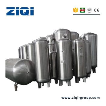 1000L 1500L 2000L air tank stainless steel storage receiver hot sale