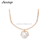 2016 Chinese appealing Alloy choker necklace gold pearl necklace jewelry