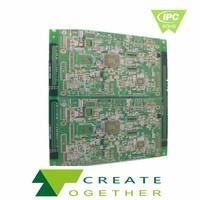 Taiwan - OEM Customized HDI RF HF board , car radio fm circuit board
