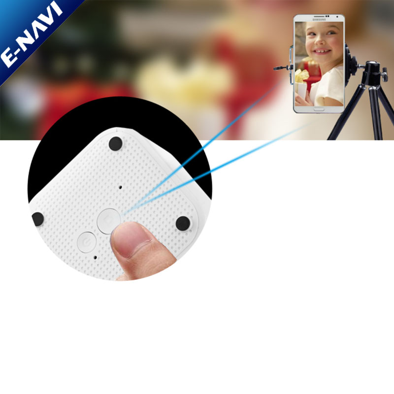Portable Mini Wireless Blue tooth Speakers with Selfie Remote Control Powerful Volume for iPhone, LaptopTablet Hands-free Call