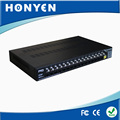 16 Channel power, video, data 3 in 1 passive video balun HY-716B