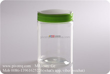 560ml plastic jars flip top lids for packing snacks