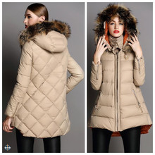 T-WJ513 Women Latest Goose Down Jacket High Quality Clothing Manufacturers