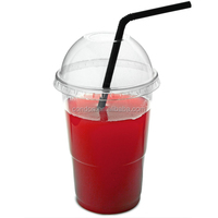 wholesale plastic cups with lids and straws