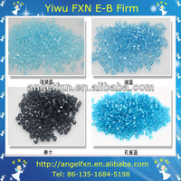 3mm bicone crystal vintage glass beads