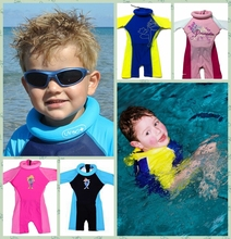 Fast Shipping Wholesale Kis Swim Training Floatsuit Swimming Aid Float Suits One Piece Swimsuits swim float for pool