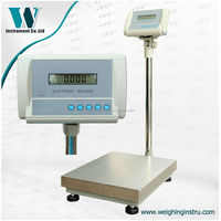 220kg 1g precise platform digital weighing scales rs232 interface