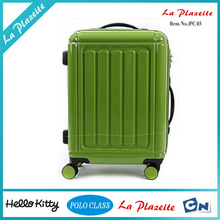 ABS+PC ladies travel house single handle luggage trolley for hotel