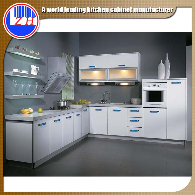 Guangzhou factory modern simple design custom modular for Accessories top kitchen cabinets