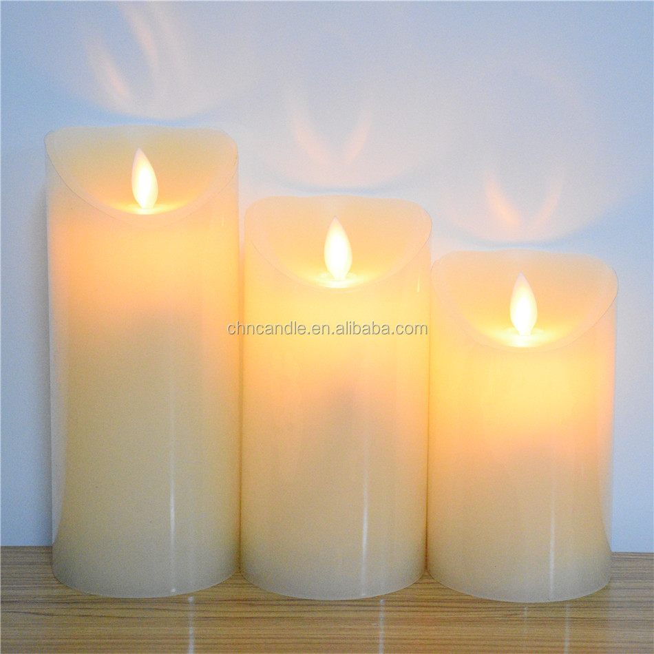 Wholesale Dancing Flame LED Candle With Timer 5/19 Hours