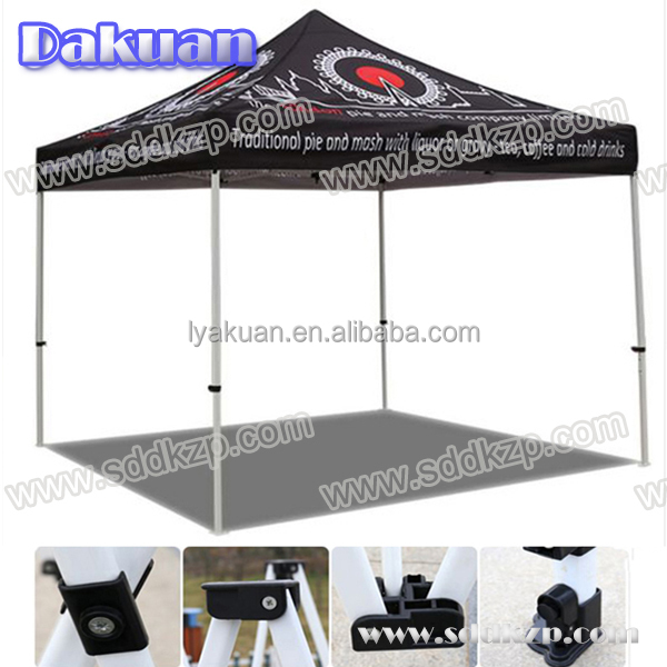 2016 High Quality 3mx3m 10'x10' Shelter Roof Top Event Tent for Food Stall