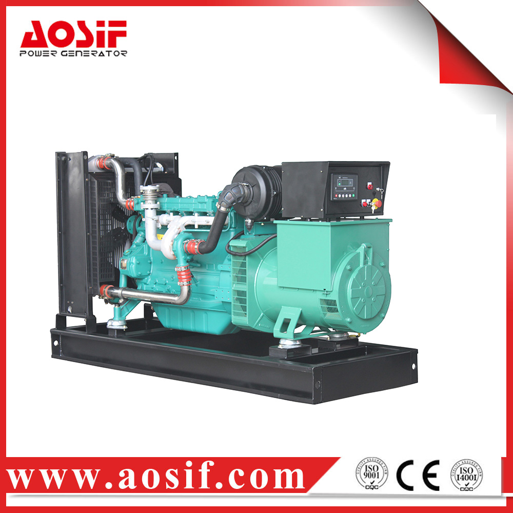 China electric genset with twin cylinder diesel generator price in india