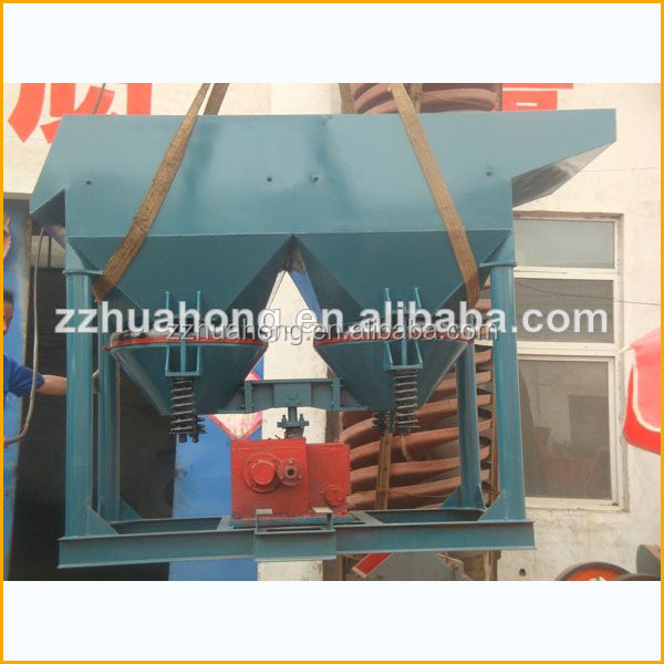 Mineral Jig Machine for Iron ore,placer gold,tin,tungsten,lead,zinc,antimony,manganese