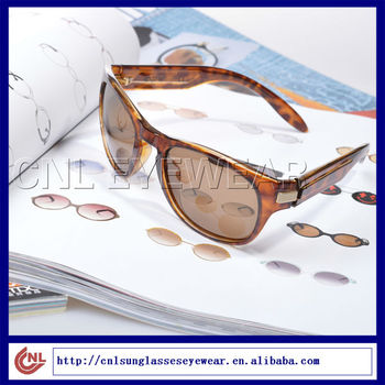 Latest Amber Sunglasses With CR-39 Sunlens