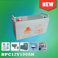 dry battery 12V 100AH battery for ups battery 12V, solar ,telecom