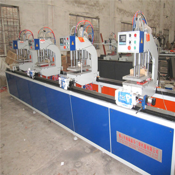 PVC windows machine PVC profile sealed cover milling machine PVC door and window, PVC profile milling machine