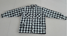 Men's 100% Cotton Flannel Padded Shirt