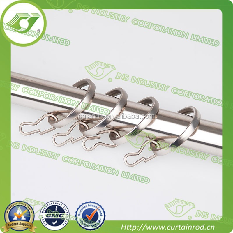 Cafe curtain rings wholesale , square metal curtain rings