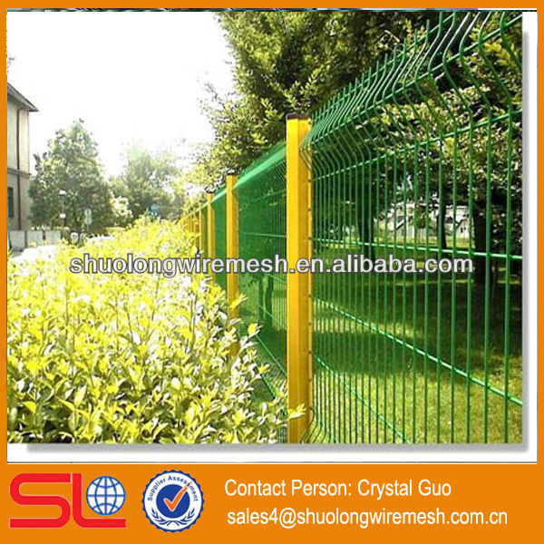 Hebei Factory Lowest Price welded wire dog fence,anti-climb welded mesh panel fence