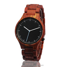 2017 pure wooden quartz relojes men watches for sell