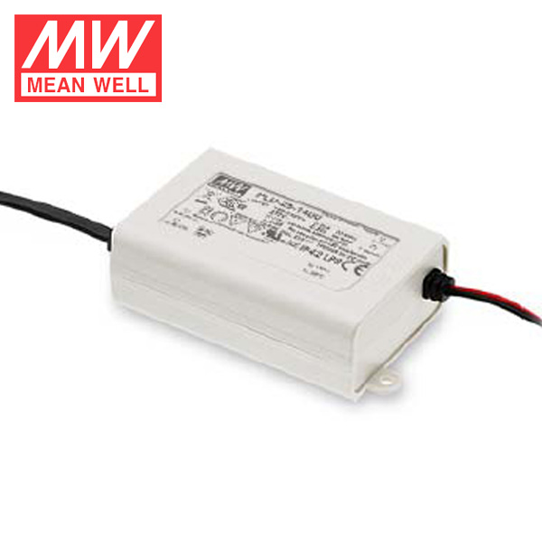 Original Meanwell 25W Single Output LED Power Supply 12~18V 1400mA Constant Current Driver PLD-25-1400