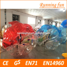 inflatable bumper ball/ body zorbing bubble ball/inflatable bumper ball for sale